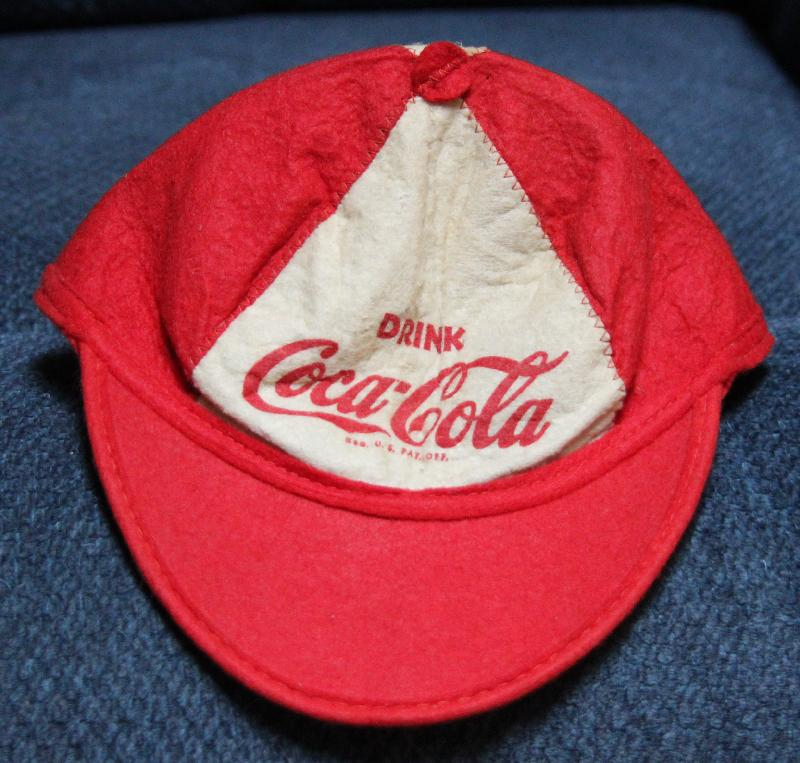 iCollect247.com Online Vintage Antiques and Collectibles - Coca Cola Beanie  Hat Advertising-Soda 5d84ad37dc9