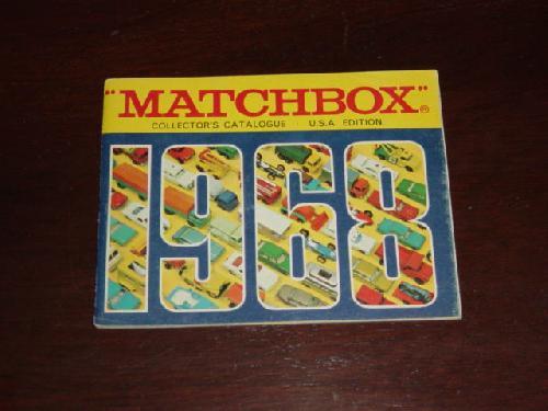 Fred Bonner Matchbox by Lesney 1968 Catalogue