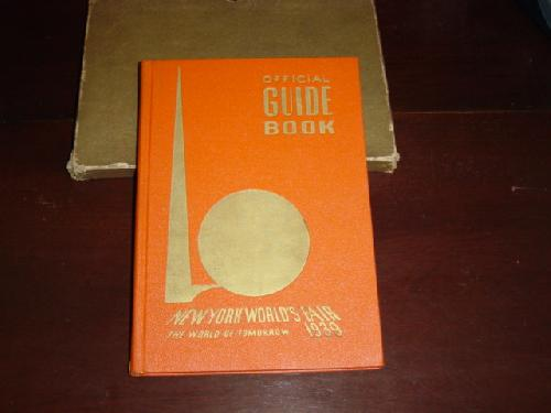 1939 World\'s Fair Official Guide Book