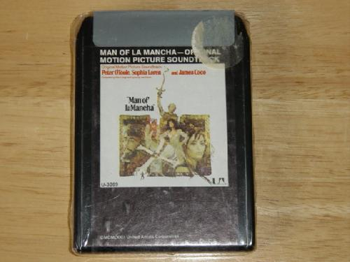 Man of La Mancha Original Motion Picture Sound Track 8-Track