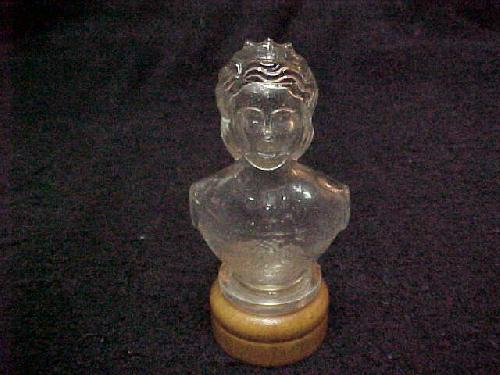 1937 Queenly Moments Queen Victoria Perfume Bottle