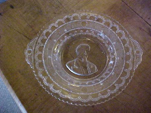 John Coulter (J. C.) Bates Historial Glass Plate