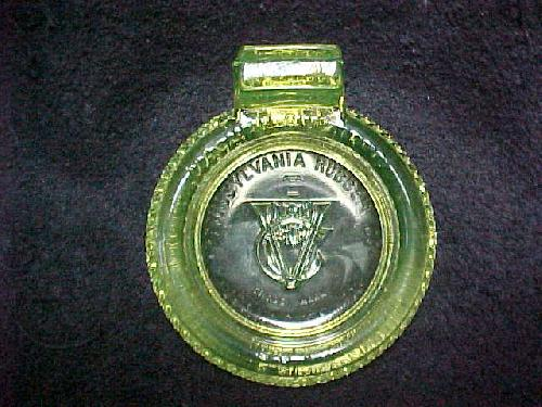 Pennsylvania Tires Vaseline Ashtray/Matchholder/Match Holder