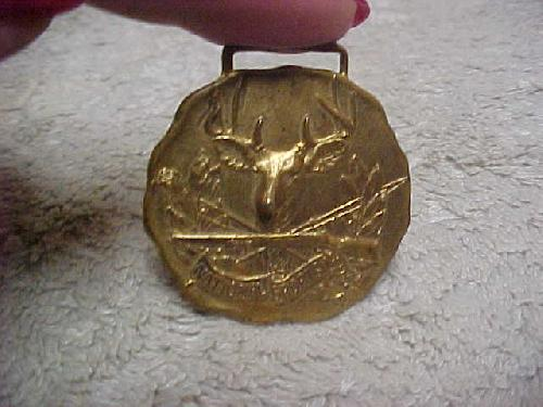 Circa 1909 National Sportsman Watch Fob with Deer