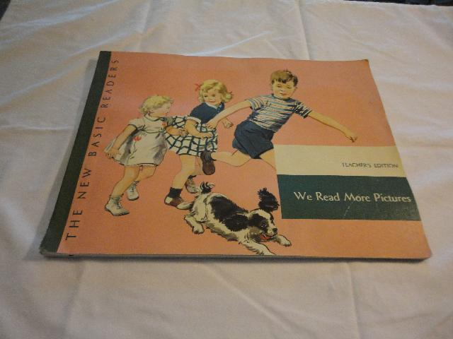 1951 Teacher's Edition Dick Jane We Read More Pictures