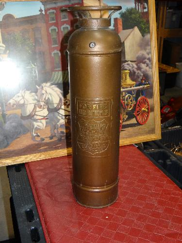 Foamite Antique Fire Extinguisher Pony Size