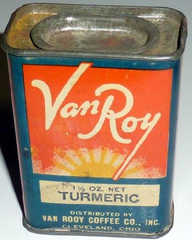 Item Van Roy Turmeric E Tin