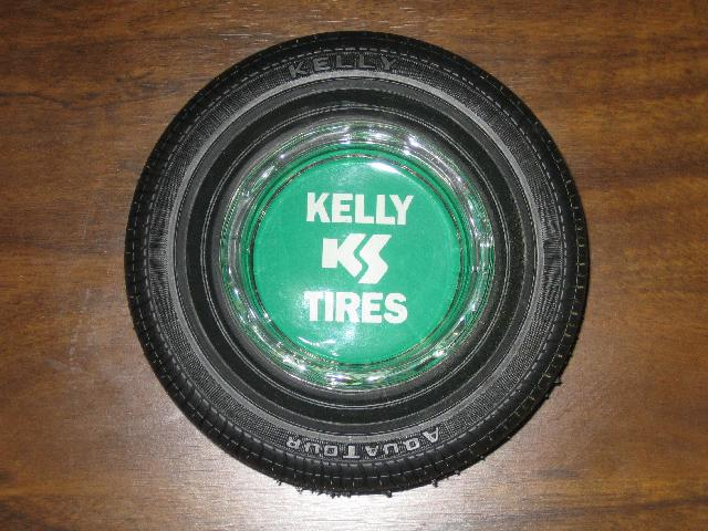Kelly Tires Ash Tray