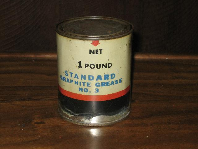 Standard Graphite Grease No. 3, 1 lb. can