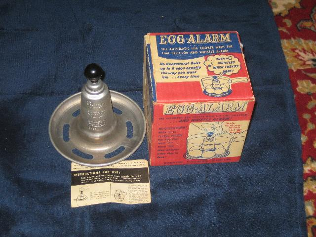 Vintage Egg-Alarm with original box and instructions