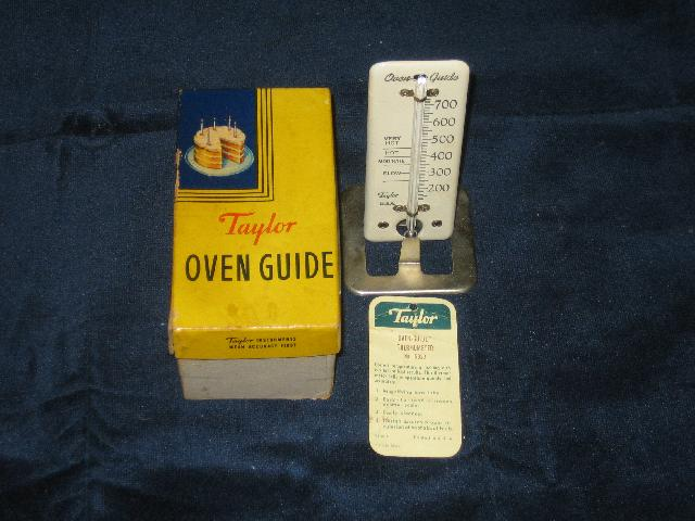 Taylor Oven Guide with original box and instructions