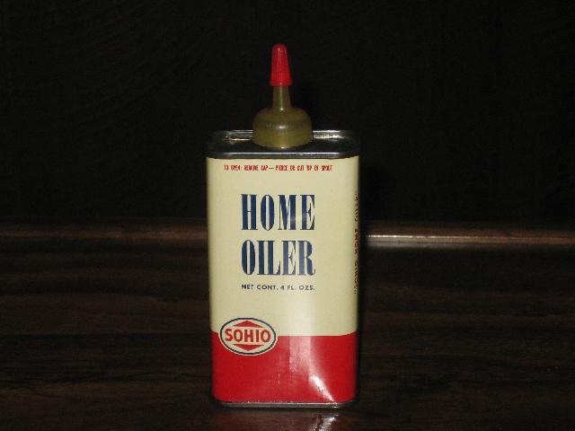 Sohio Home Oiler, old logo, 4 oz., old logo
