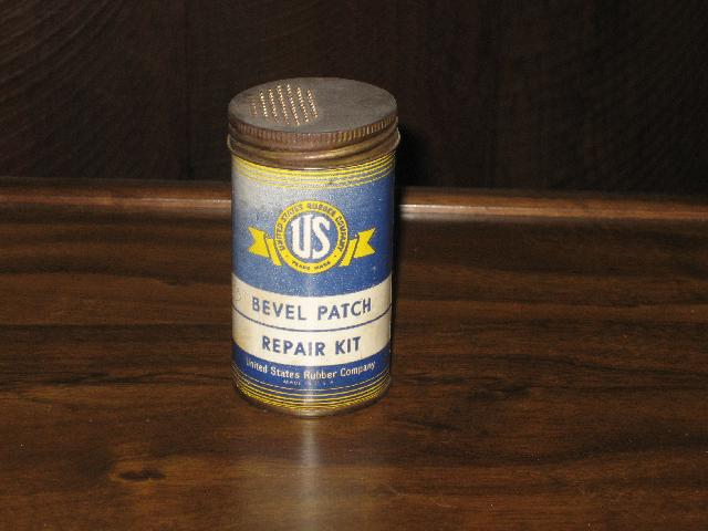 United States Rubber Bevel Patch Repair Kit, VINTAGE!