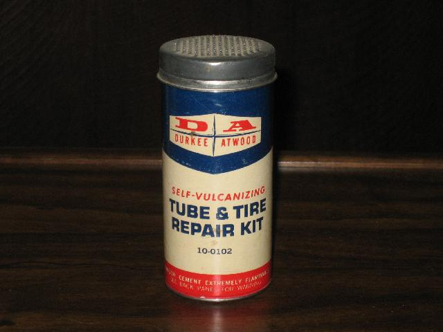 Durkee Atwood Self-Vulcanizing Tube & Tire Repair, VINTAGE!