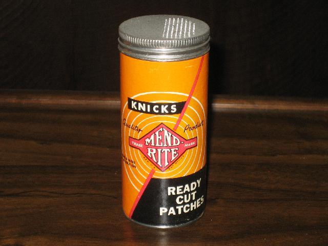 Knicks Mend Rite Ready Cut Patches--VINTAGE!