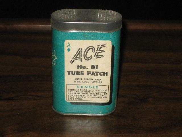Ace No. 81 Tube Patch--VINTAGE!