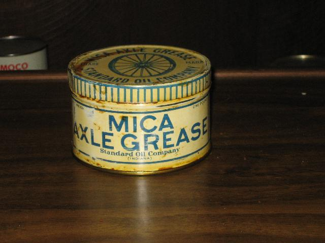 Standard Oil Company Mica Axle Grease for buggies and wagons