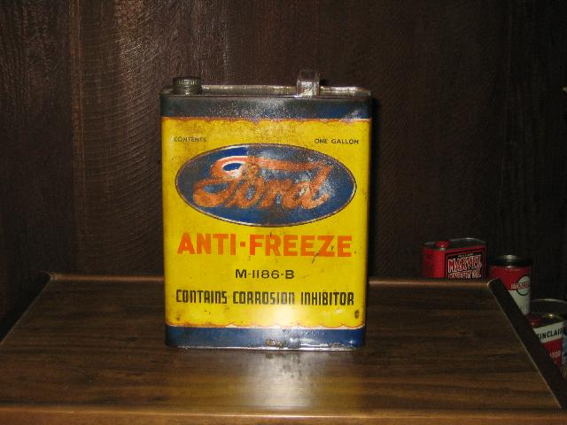 Ford Anti-Freeze M-1186-B 1 gal can, VINTAGE!