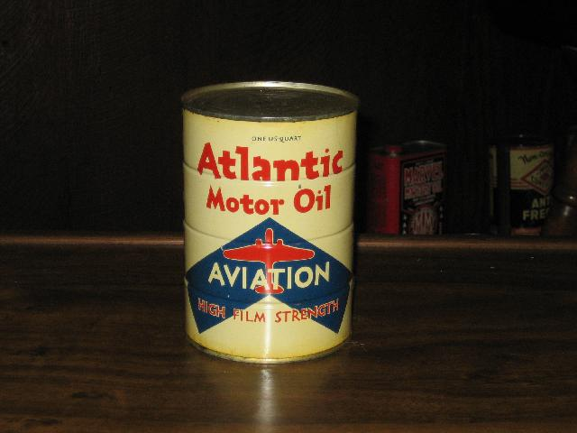 Atlantic Aviation Motor Oil High Film Strength, 1 quart,FULL