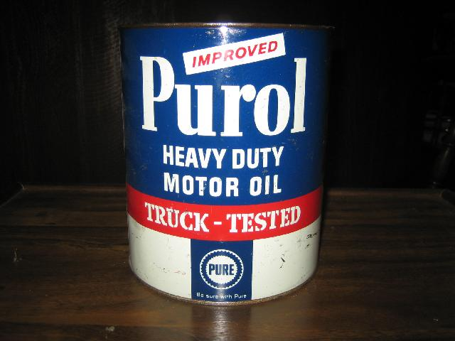 Pure Purol Heavy Duty Motor Oil Truck-Tested, 4 QUART