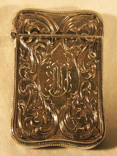 Sterling Silver Match Safe. Made by Fritzsche & Co.